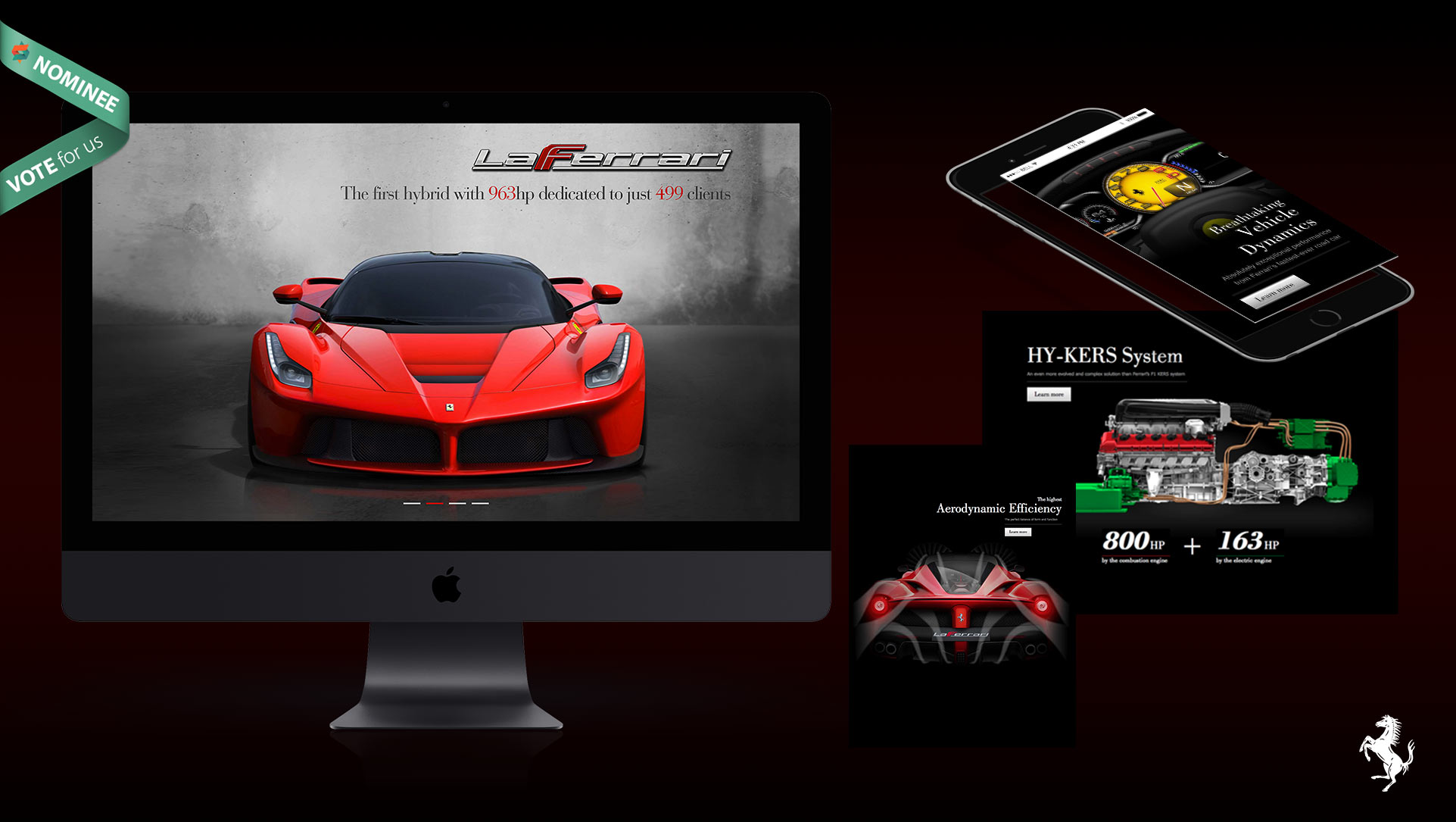 Ferrari La Ferrari Website